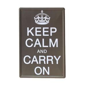 Ceduľa Carry On, 20x30 cm