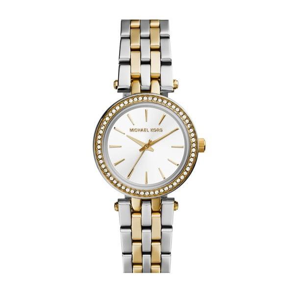Dámske strieborno-zlaté hodinky Michael Kors Editte