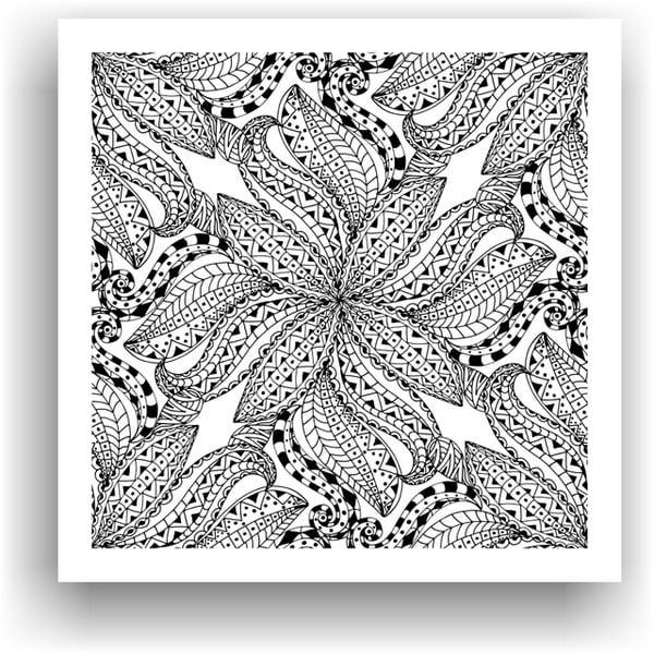 Obraz na vymaľovanie Color It no. 92, 50x50 cm