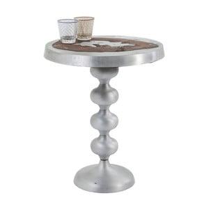 Odkladací stolík z lakovaného mangového dreva Kare Design