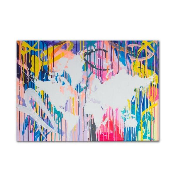 Obraz Around the World I, 50x70 cm