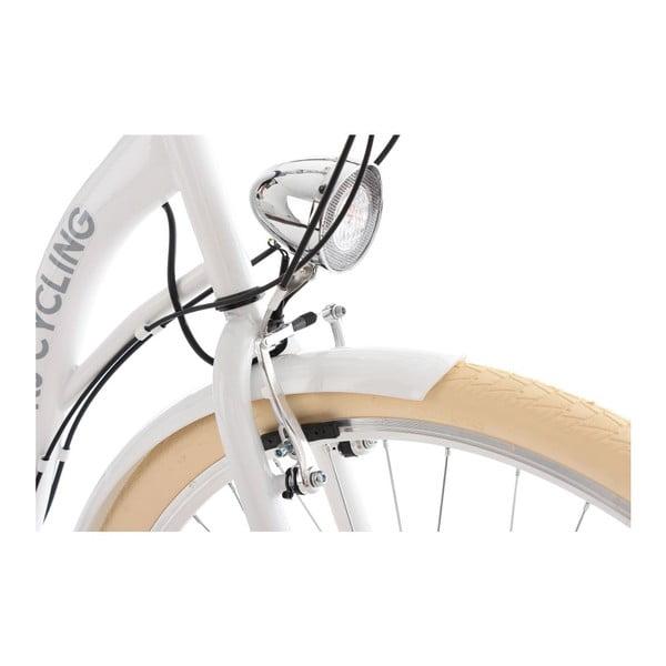 """Bicykel City Bike Balloon White 28"""", výška rámu 48 cm"""