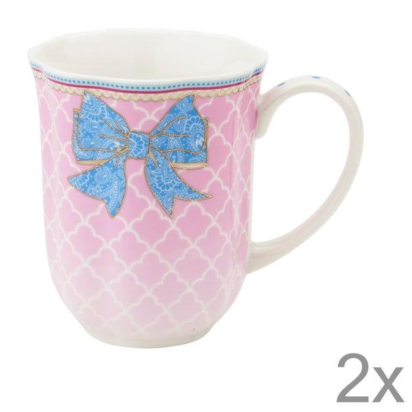 Porcelánový hrnček na kávu Bowie od Lisbeth Dahl, 2 ks