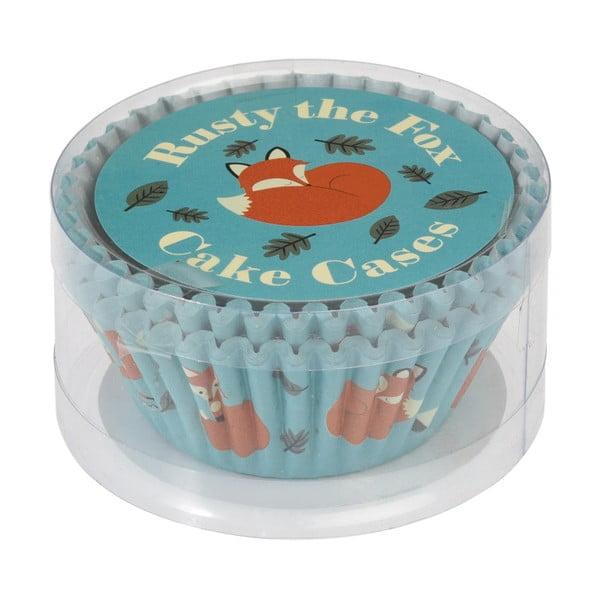 Sada 50 košíčkov na muffiny Rex London Rusty The Fox