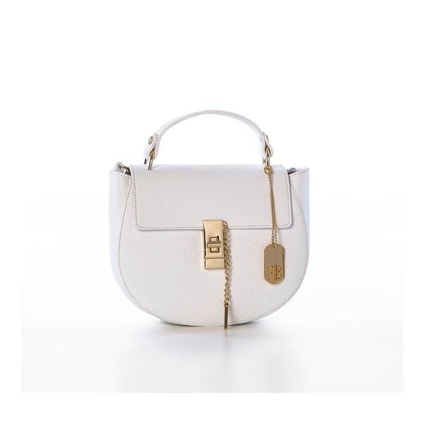 Kožená kabelka Grana Dollaro White