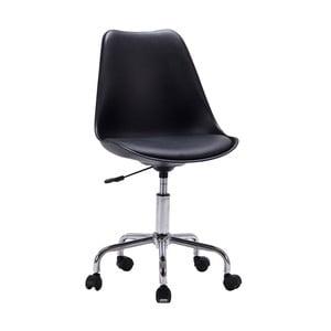 Čierna kancelárska stolička House Nordic Stavanger