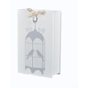 Drevená skrinka na kľúče Vtáčia klietka