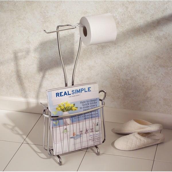 Stojan na toaletný papier a časopisy InterDesign Axis