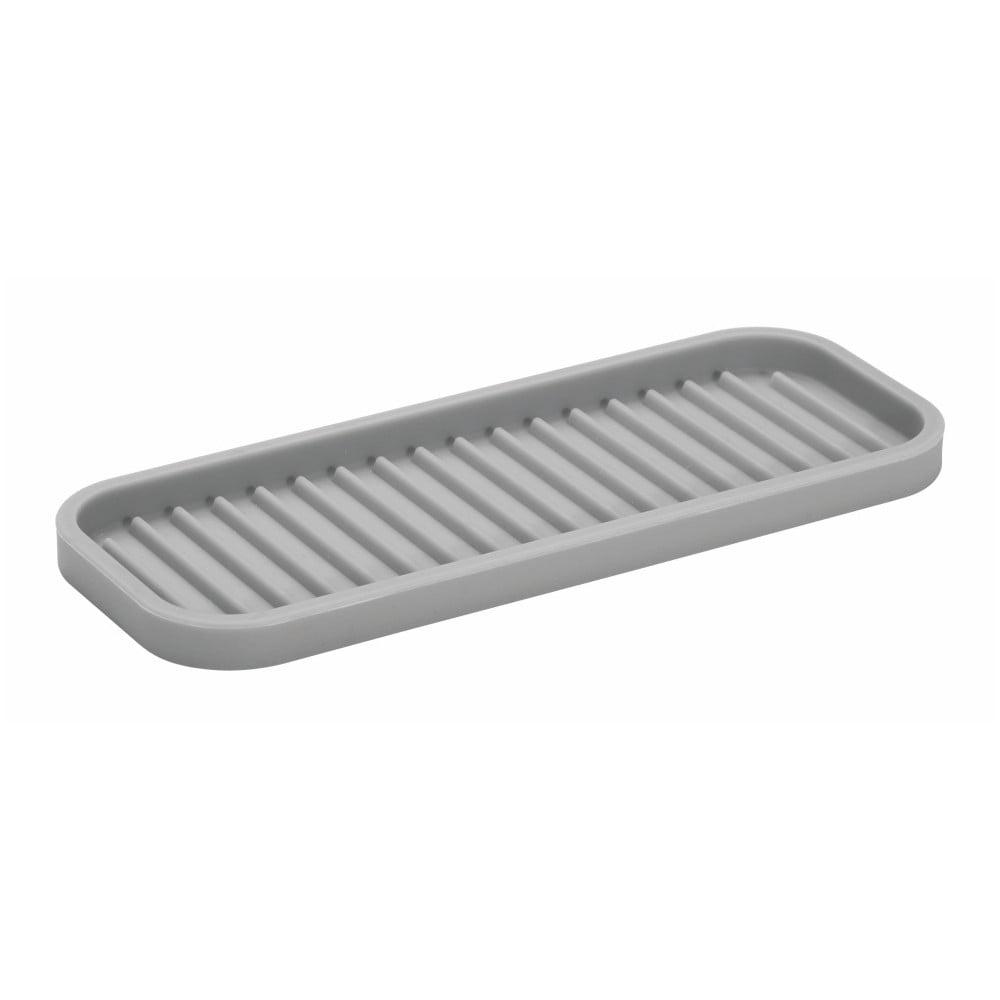 Silikónový organizér na kuchynskú linku iDesign Lineo Tray, 23 × 9 cm