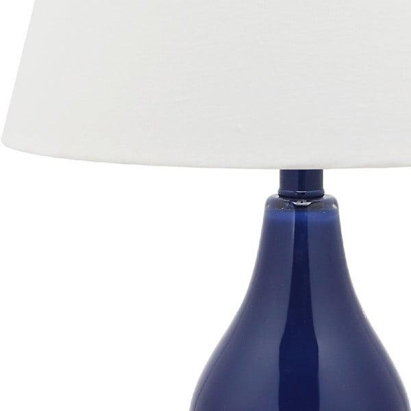 Sada 2 stolových lámp s modrou základňou Safavieh Kara
