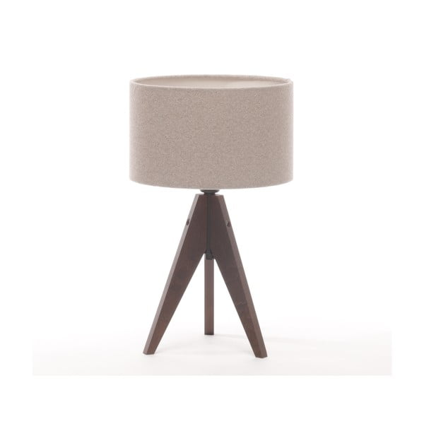 Stolná lampa Arist Cylinder Brown Grey/Dark Brown