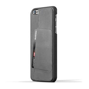 Peňaženkový obal Mujjo na telefón iPhone 6 Plus Gray