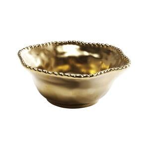Misa v zlatej farbe Kare Design Bell Gold, ⌀ 16cm