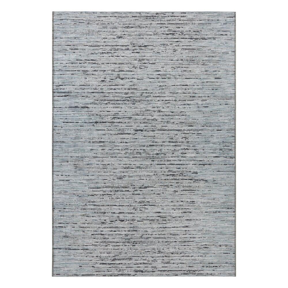 Antracitovomodrý koberec Elle Decor Curious Laval, 77 × 150 cm