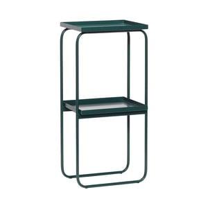 Zelený konzolový stolík Hübsch Clady