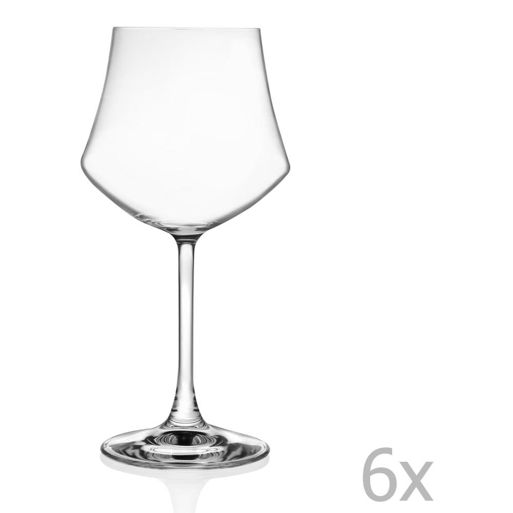 Sada 6 pohárov na víno RCR Cristalleria Italiana Susana, 430 ml