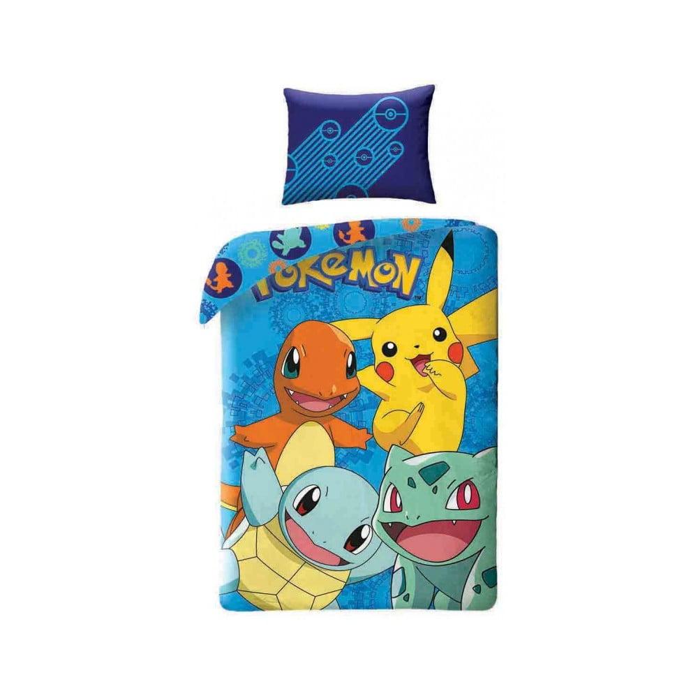 Detské bavlnené obliečky Halantex Pokemon, 140 x 200 cm