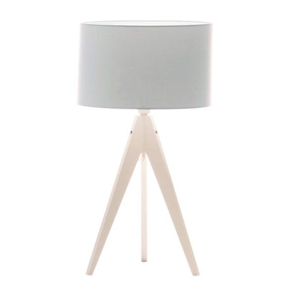 Stolná lampa Artist Baby Blue/White, 40x33 cm