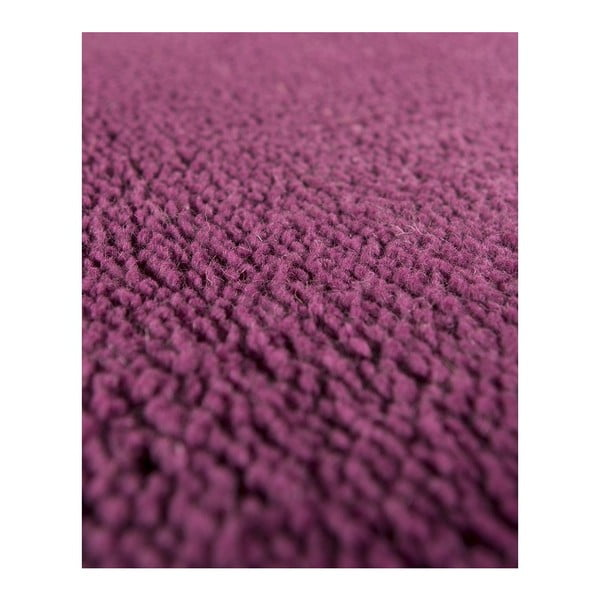 Vlnený koberec Tatoo 110 Lila, 67x200 cm