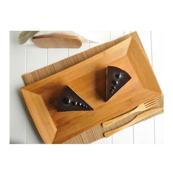 Bambusová servírovacia miska Americano, 19 cm