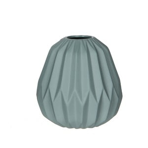 Mätovozelená  porcelánová váza Mica Fena, 15,5x14,5 cm