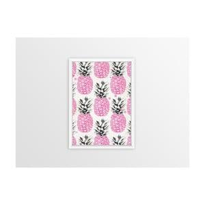 Obraz Piacenza Art Pink Pineapples, 30×20 cm
