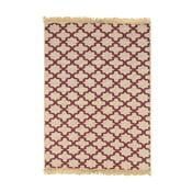 Červený koberec Ya Rugs Tee, 60×90cm