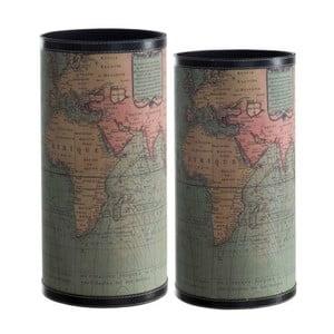 Sada 2 stojanov na dáždniky Cosas de Casa Mapa sveta