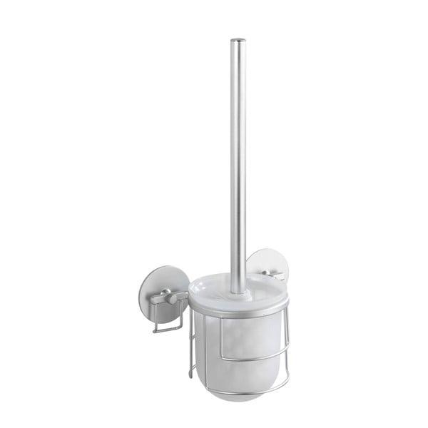 Samodržiaci stojan s toaletnou kefou Wenko Aluminium, až 40 kg