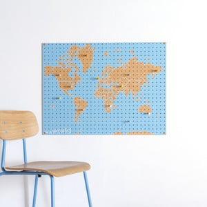 Multifunkčná nástenka Pegboard World, 61x81 cm