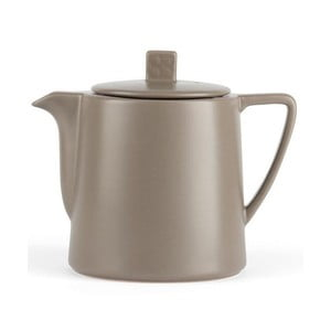Sivohnedá kanvica so sitkom na sypaný čaj Bredemeijer Lund, 1 l