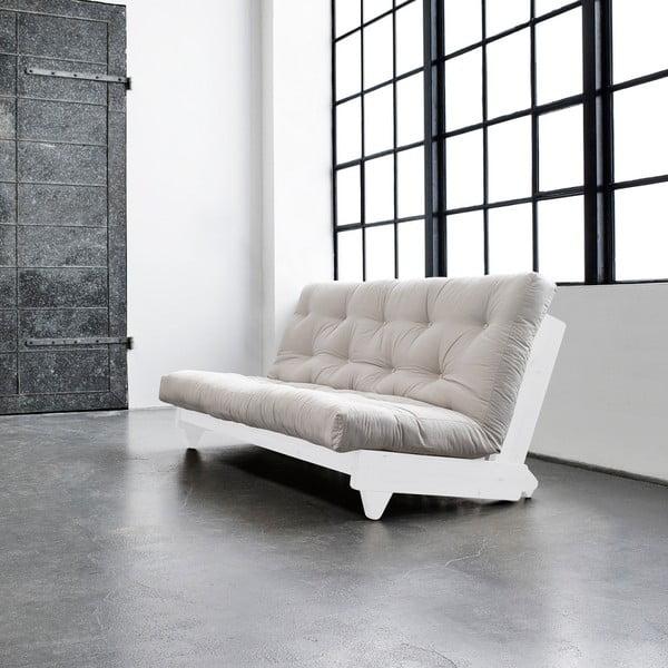 Rozkladacia pohovka Karup Fresh White/Vision