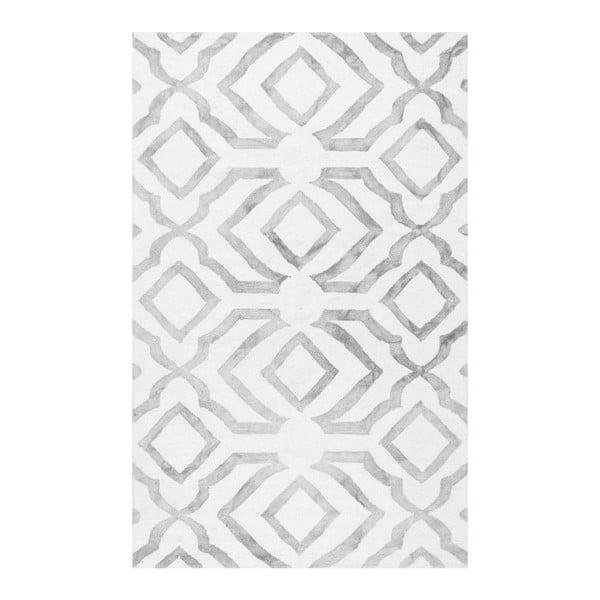 Vlnený koberec nuLOOM Elegino Grey,152 x 244 cm