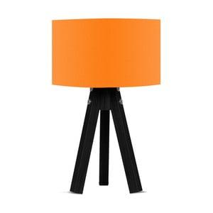 Stolová lampa s oranžovým tienidlom Kate Louise Blackie
