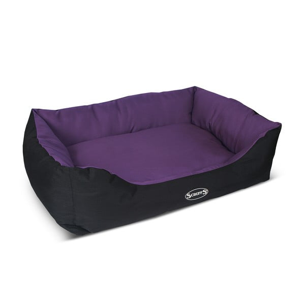 Psí pelech Expedition Bed XL 90x70 cm, slivkový