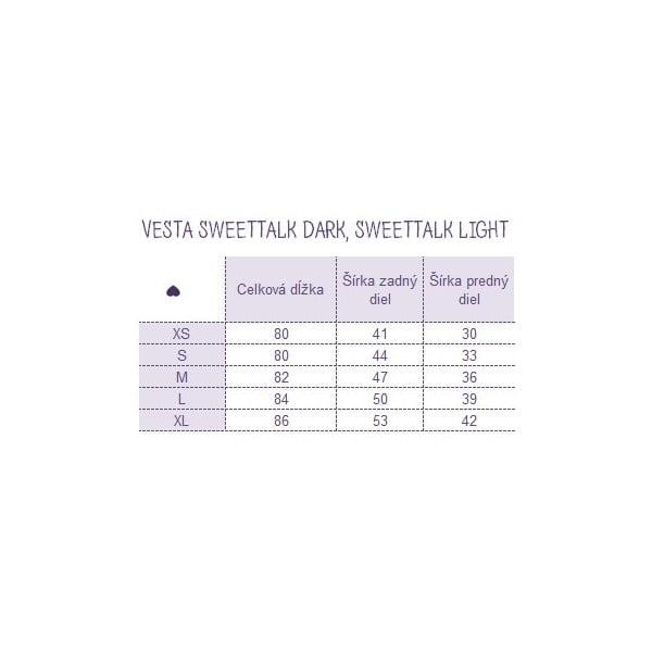 Vesta Sweetalk Dark, veľkosť L