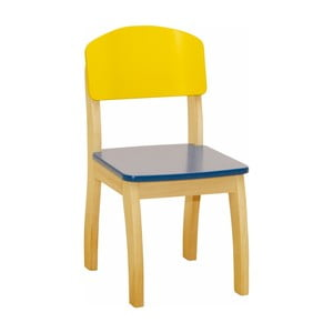 Detská žltá stolička Roba Kids