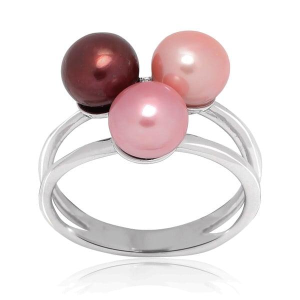 Prsteň Pure Pearls Pink Candy, veľ. 56