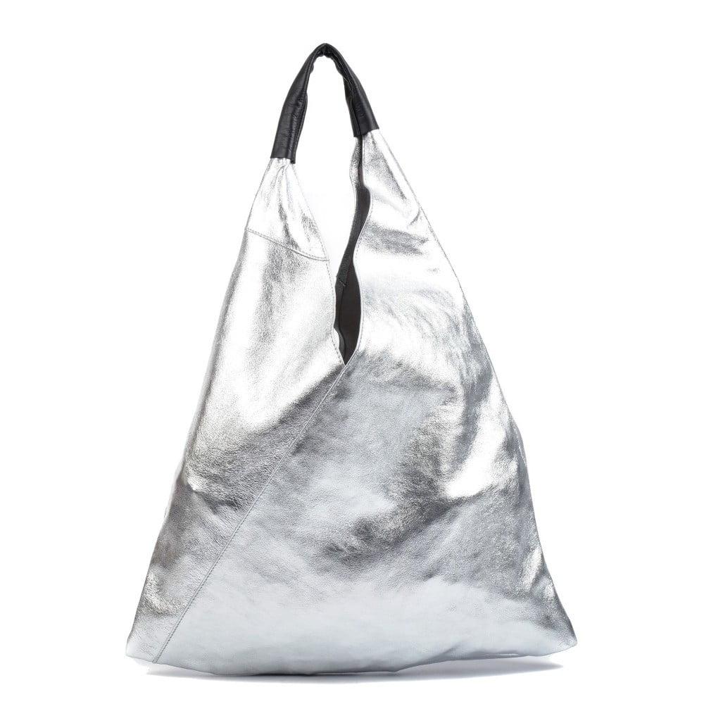 d3875c3b13 Kožená nákupná taška Isabella Rhea Argento