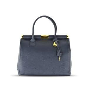 Kožená kabelka Carla, modrá