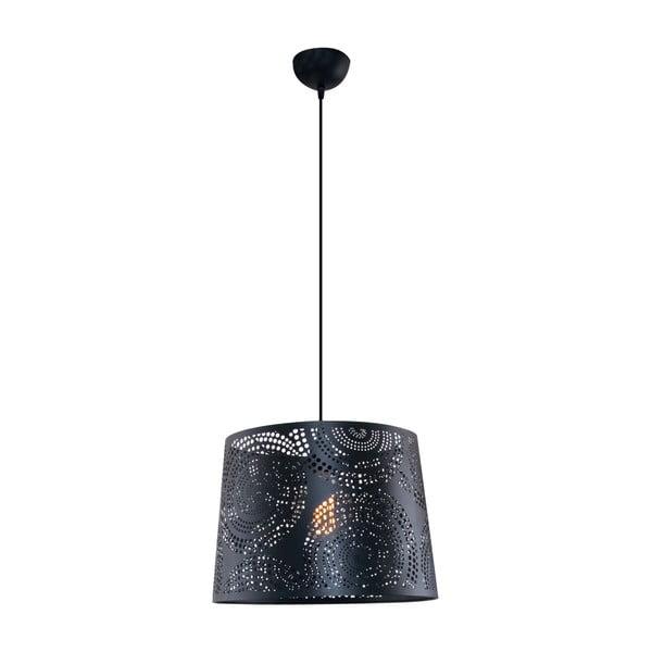 Závesné svetlo Santiago M, čierne