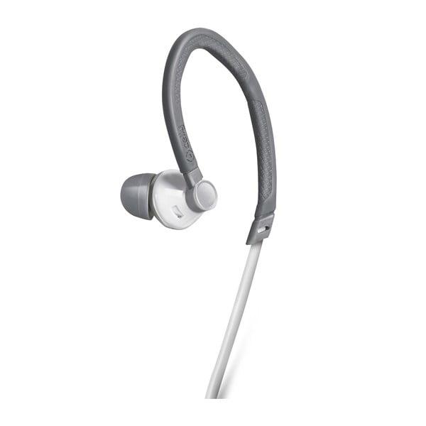Športové slúchadlá CELLY s mikrofónom, biele