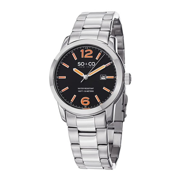 Pánske hodinky Madison Watch Silver