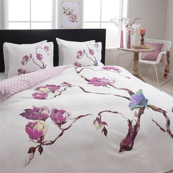 Flanelové obliečky Magnolie, 140x200 cm