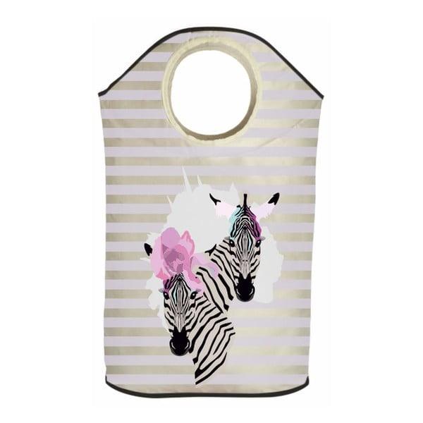 Kôš na bielizeň Zebra Couple