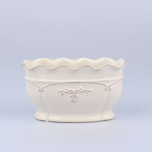 Váza Antic White, 22x11x12 cm