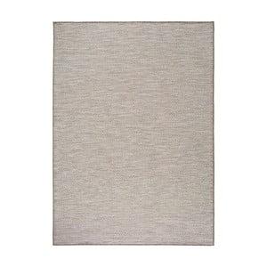 Koberec v striebornej farbe Universal Kiara vhodný i do exteriéru, 230 x 160 cm