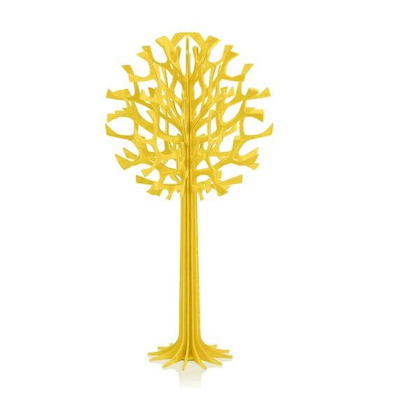 Skladacia dekorácia Lovi Tree Yellow, 34cm