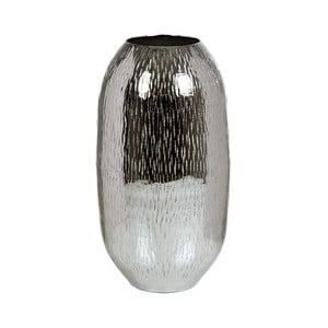 Váza v striebornej farbe Santiago Pons Sisah