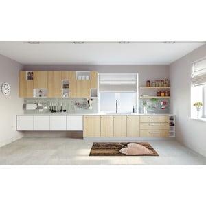 Vysokoodolný kuchynský behúň Webtappeti Cour, 60×140 cm